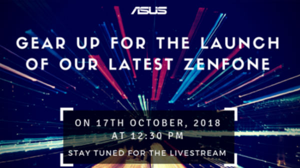 Asus sends invites for new ZenFone smartphone launch in India on October 17