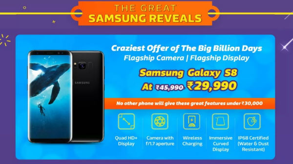 Flipkart Big Billion Day Sale: Get heavy discounts on Samsung phones