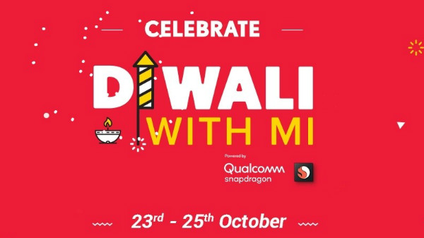 Xiaomi's 'Diwali with Mi' sale starts today on mi.com