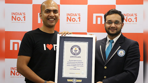 Xiaomi gets another entry in the Guinness Book of World Records