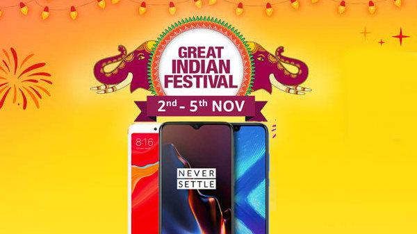 Amazon Diwali offers: Blockbuster deals of up to 40% on smartphones