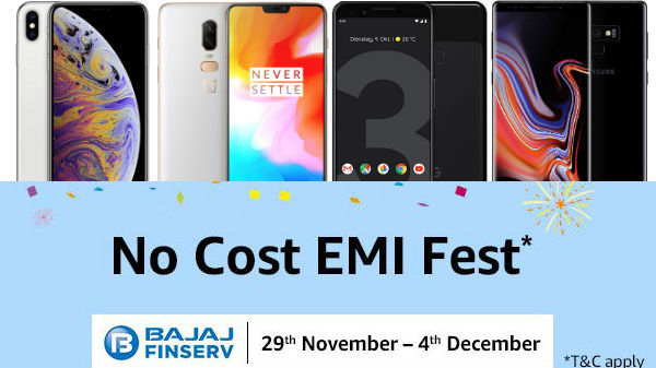 Amazon EMI Fest: Get enticing offers on new smartphones