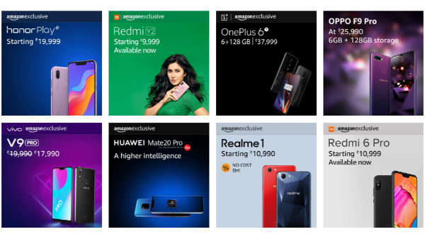 Amazon exclusive smartphones available right now