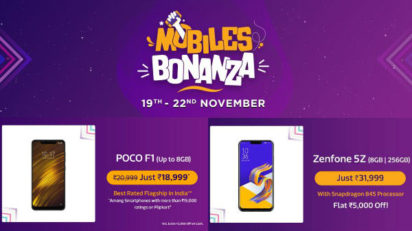 Flipkart Mobile Bonanza offers: heavy discounts on best 6GB RAM Phones