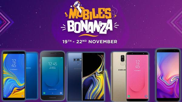 Flipkart Mobiles Bonanza: Get irresistible offers on Samsung phones