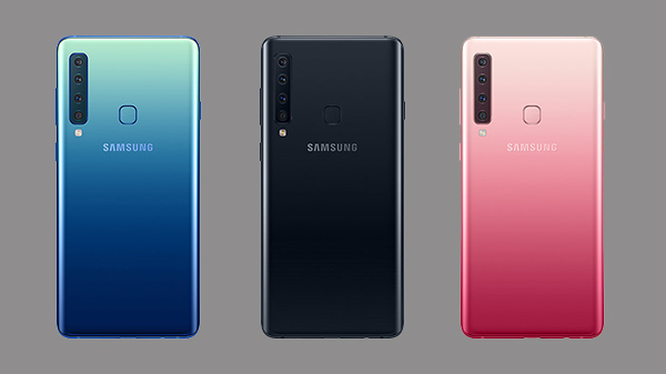 Samsung Galaxy A9 (2018) with quad camera-setup arrives in Russia