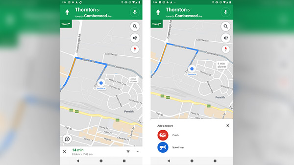 Google Maps to add crash and speed trap reporting feature soon