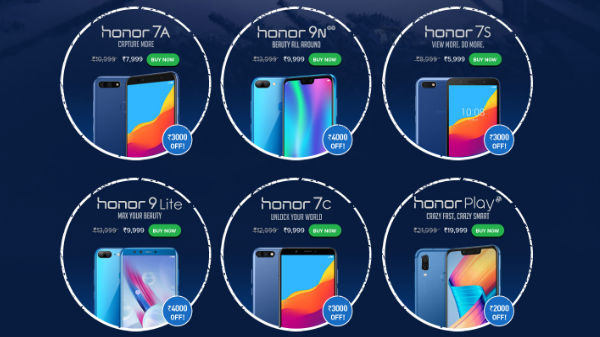 Honor November Sale: Irresistible discounts on Honor smartphones