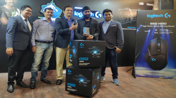 Logitech G502 HERO officially launched in India for Rs 6,495