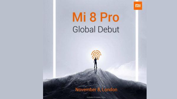 Xiaomi's first On-screen fingerprint model Mi 8 Pro global launch