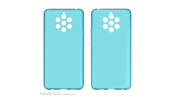 Nokia 9 PureView case renders confirm five cameras at its rear