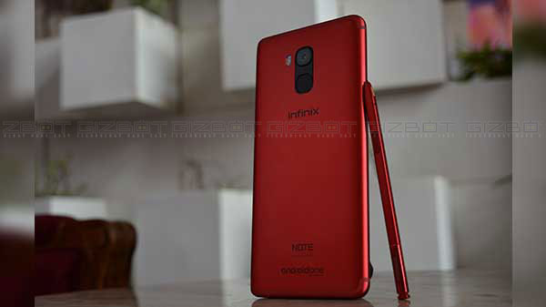 Infinix Note 5 Stylus First Impressions