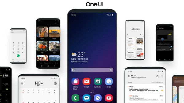 One UI will be available for the Galaxy Note9 and Galaxy S9 in 2019