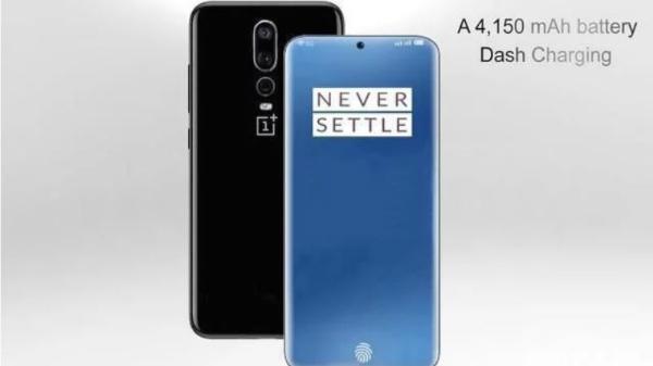OnePlus 7 Concept Render: Triple camera with in-display selfie camera