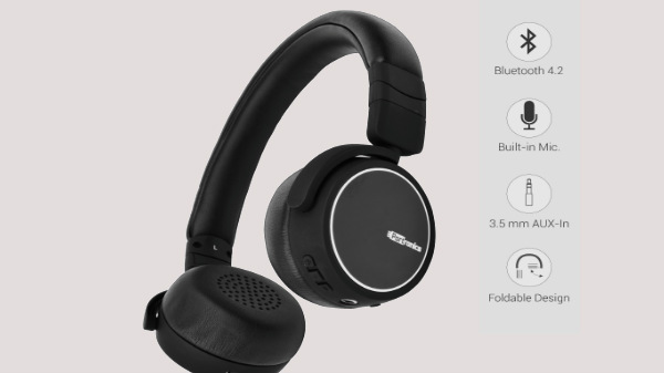 "Portronics ""Muffs R"" Bluetooth Earphones with Mic launched in India"