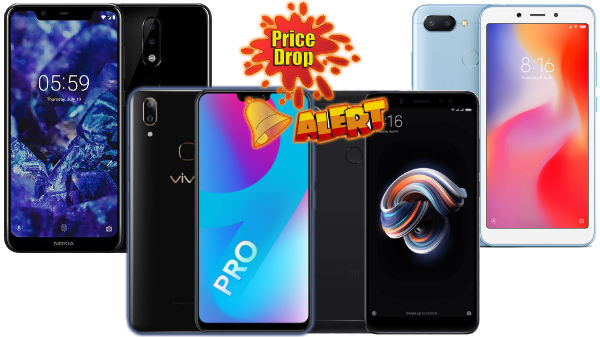 Price drop on New smartphones via Flipkart