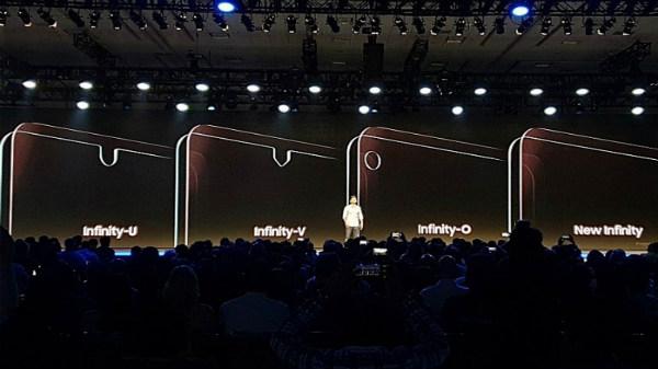 Samsung announces Infinity-U, Infinity-V, Infinity-O, and