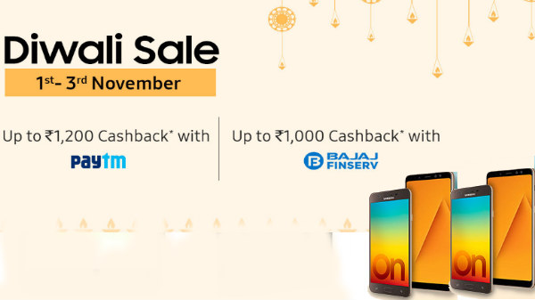 Samsung Diwali offers: Avail cashback and special discounts on phones