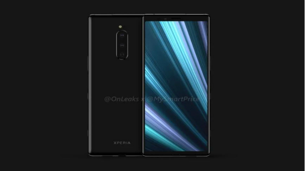 Sony Xperia XZ4 3D leaked 3D renders suggest a triple camera setup