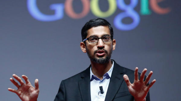 Congresswoman asked Sundar Pichai why Trump show up when I Google 'Idiot'?