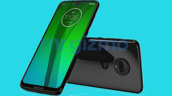 This is the Moto G7: Snapdragon 660 SoC, water drop notch and more