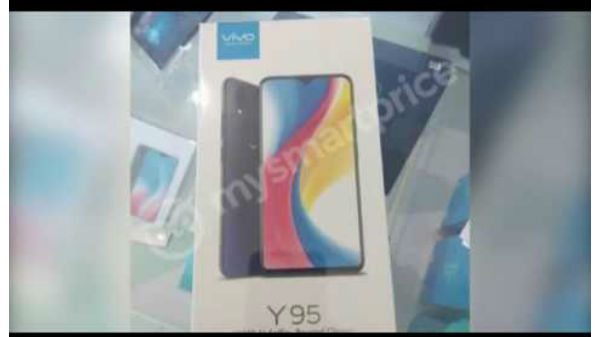 Vivo Y95 retail box leaked images surfaces online