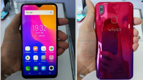 Vivo Y95 latest leak hints at FullViiew notch display