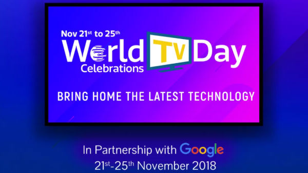 World TV Day 21st to 25th: Special Discount offer on smart TVs