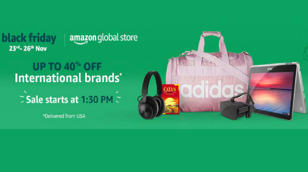 Amazon Black Friday 2018 sale: Discounts on laptops, gadgets and more