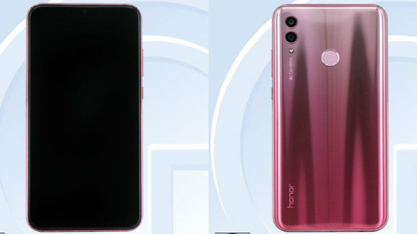 Honor 10 lite with dual-rear camera setup spotted on TENNA