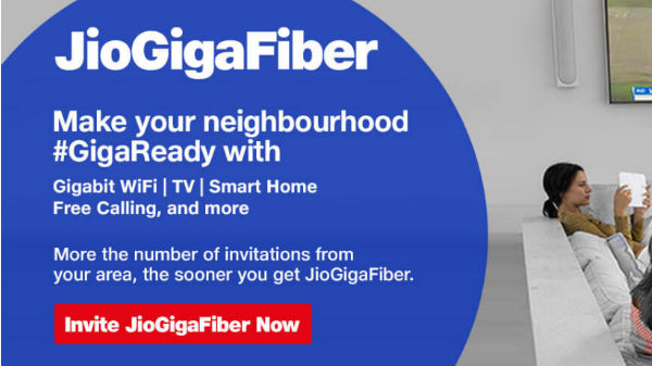 Jio GigaFiber: How to register for Reliance FTTH broadband connection