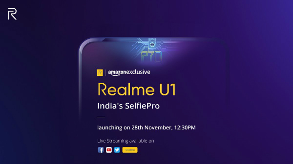 Realme U1 selfie contest lets you win the smartphone: Here's how