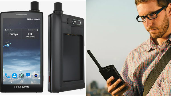Thuraya X5-Touch: The first Satellite smartphone based on Android announced