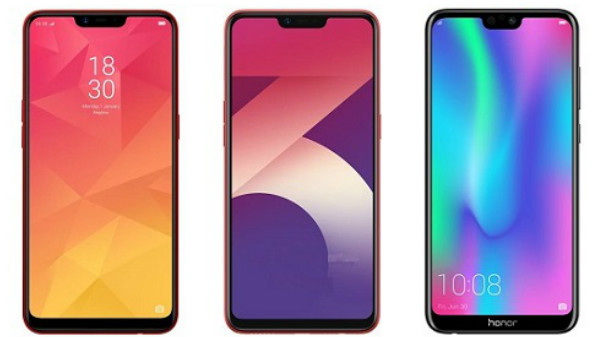 Best notch display smartphones under Rs. 15,000