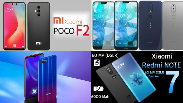 Upcoming Rumored budget smartphones to be launched in 2019 to 2020
