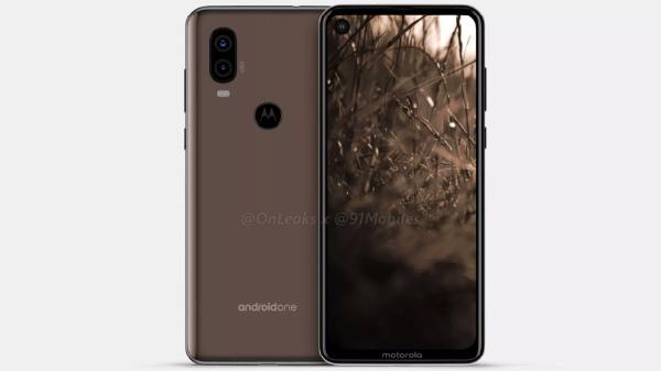 Alleged Motorola P40 renders and 360-degree video leak