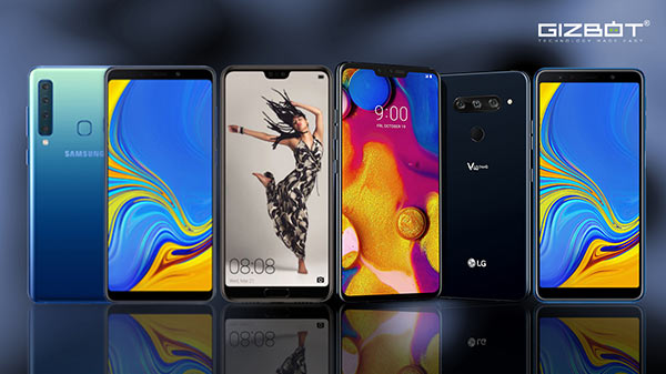 Best Multi lens cameras smartphones that launched in 2018