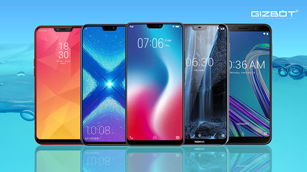 Best value for money smartphones under Rs. 20000 launched in 2018