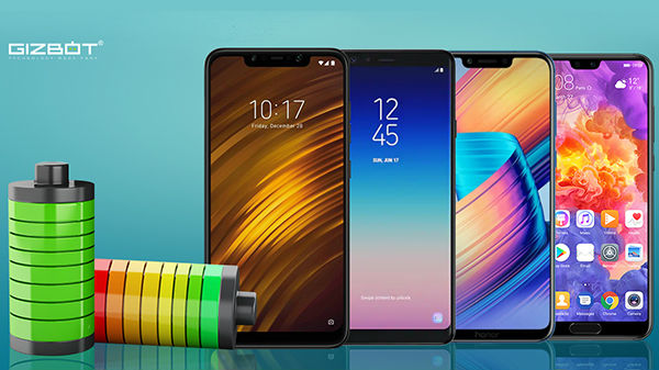 List of Best battery Backup Smartphones that launched in 2018