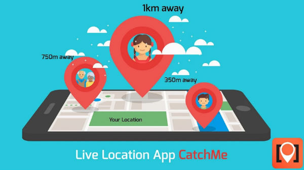 CatchMe an app which will keep you safe with accurate live tracking