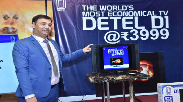 Detel join hands with Snapdeal to sell its LED TV range