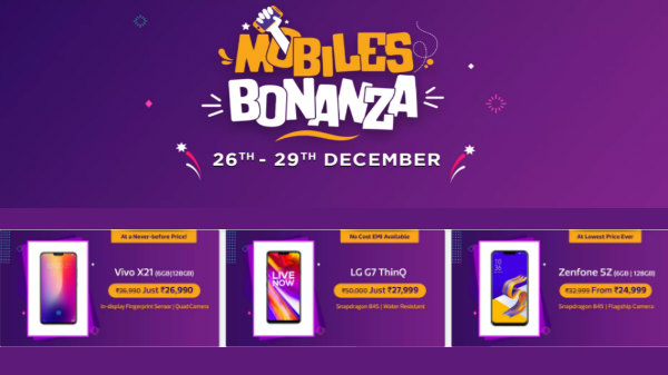 Flipkart Mobile Bonanza sale: Year end discounts and offers on phones