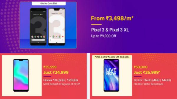 Flipkart Big Shopping Days sale: Buy high-end smartphones on EMI offer