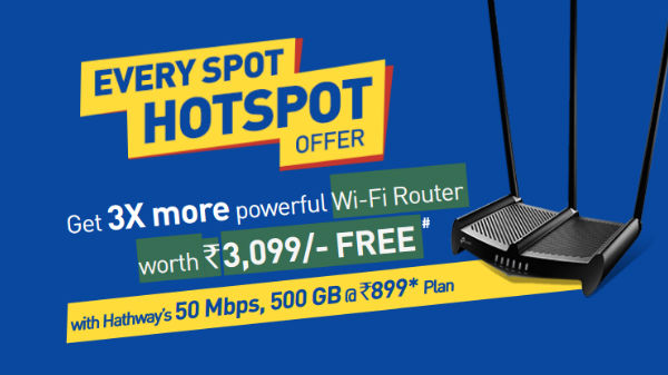 Jio GigaFiber Effects: Hathway offering free Wi-Fi Router and more