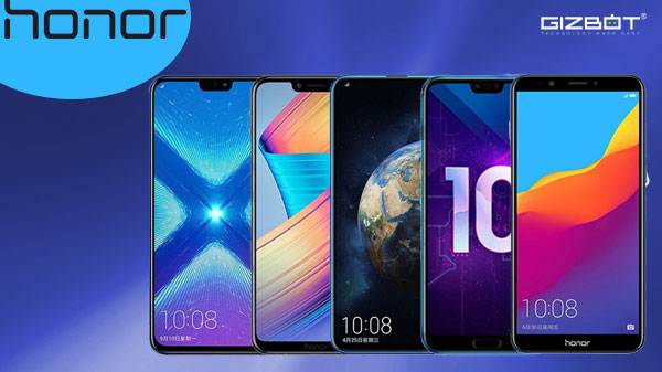 List of Honor smartphones launched in 2018