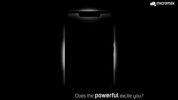 Micromax teases notch display smartphone launch on December 18