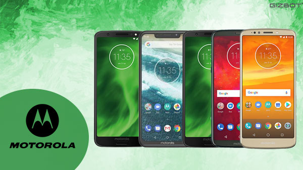 Best Motorola smartphones launched in 2018