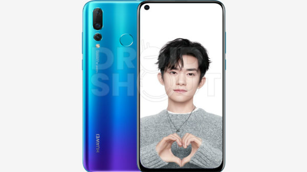 Huawei Nova 4 leaked press renders hint two different variants