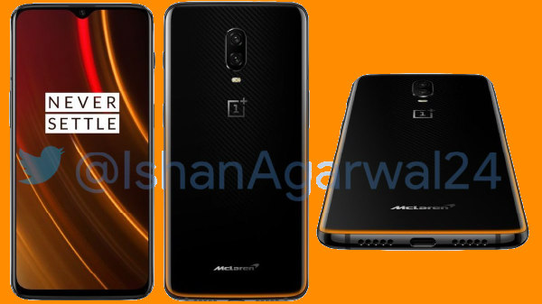 OnePlus 6T McLaren Edition will support Warp Charge 30