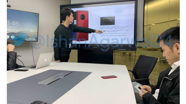 Possible OnePlus 7, the first 5G smartphone with a circular camera